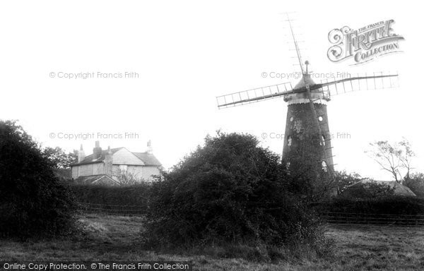 Reigate,Wray Common Windmill 1907,Surrey