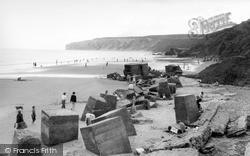 Gap, Beach And Speeton Cliffs c.1965, Reighton