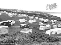 Gap, Caravan Site c.1955, Reighton