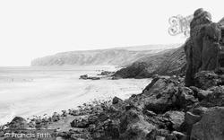 Gap, View Towards Flamborough c.1960, Reighton