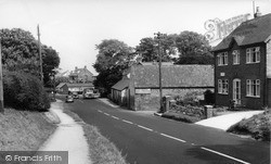 Post Office And Main Road c.1960, Reighton