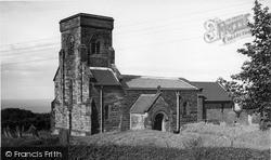 St Peter's Church c.1955, Reighton