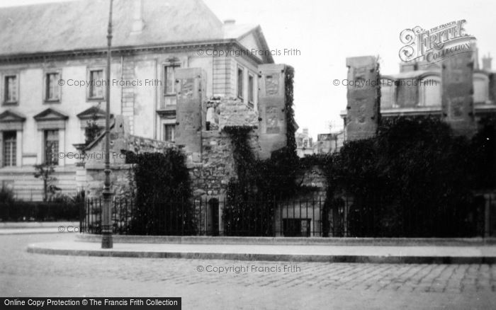Photo of Reims, A War Shattered House c.1935