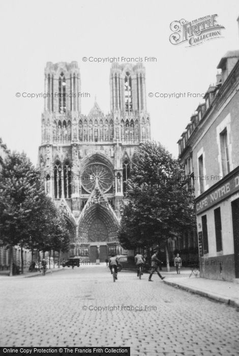 Photo of Reims, Cathedral 1935