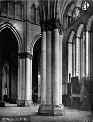 Reims, Cathedral, Across Nave c.1867