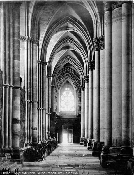 Photo of Reims, Cathedral, Aisle Nave c.1867