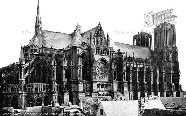 Photo of Reims, Cathedral c.1867