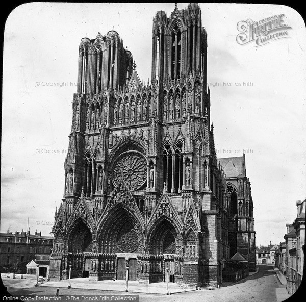 Photo of Reims, Cathedral c.1875