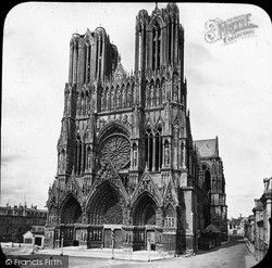 Reims, Cathedral c.1875