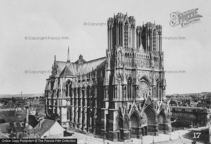 Photo of Reims, Cathedral c.1935