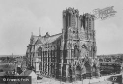 Cathedral c.1935, Reims