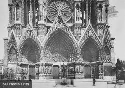 Cathedral Entrance c.1935, Reims