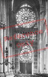 Cathedral, Interior c.1910, Reims