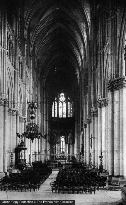 Photo of Reims, Cathedral, Nave c.1910