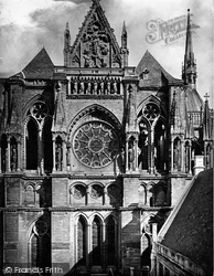 Reims, Cathedral, South Transept c.1867