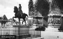 Statue Of Joan Of Arc c.1935, Reims