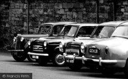 Cars Outside Repton School c.1960, Repton