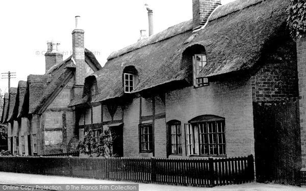 Repton, Church End c1955