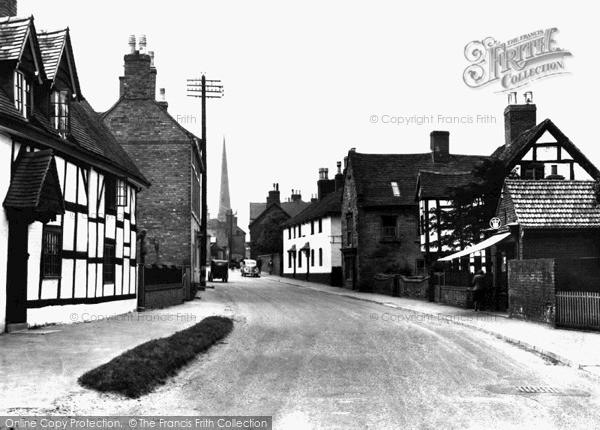 Repton, High Street c1950
