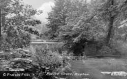 Robins Cross c.1955, Repton