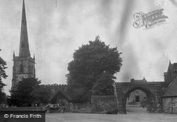 St Wystan's Church And Arch c.1955, Repton
