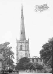 St Wystan's Church c.1955, Repton