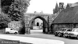The Arch, Repton School c.1960, Repton
