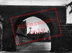 The School Arch c.1955, Repton