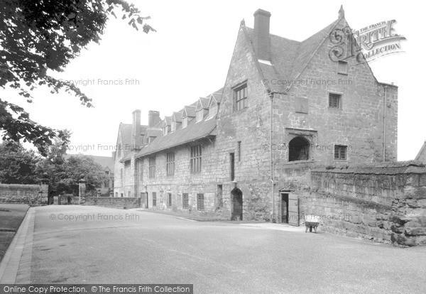 Repton, the School Priory c1955
