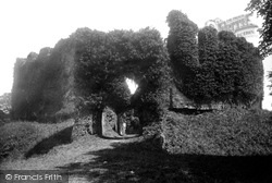 Restormel, Castle Front 1891