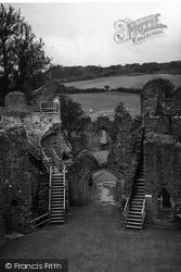 Castle Gateway c.1960, Restormel