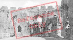 Castle, Interior c.1939, Restormel