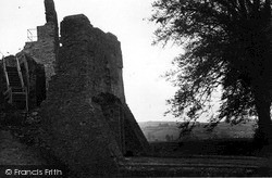 Moat And Gateway At The Castle c.1960, Restormel