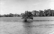 Retford, Babworth Hall and Lake c1955