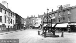 Chapelgate And Cannon Square c.1955, Retford