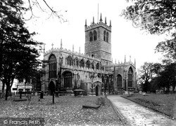 East Retford Parish Church c.1955, Retford