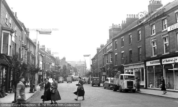 Retford, Grove Street c1955
