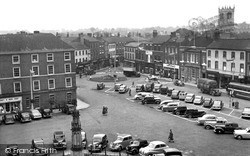 Market Place c.1955, Retford