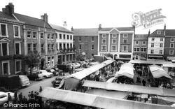 Market Place c.1965, Retford