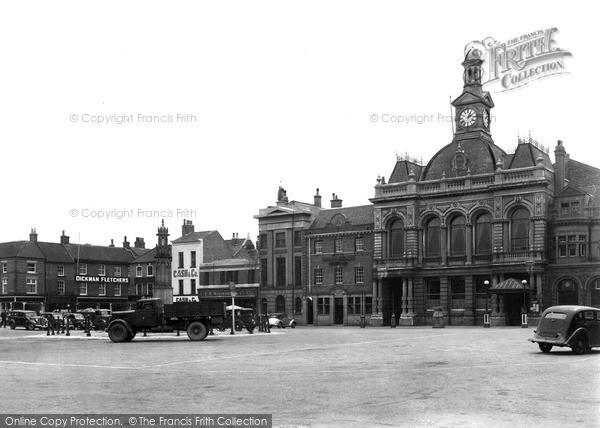 Retford, Market Square 1947