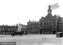 Market Square 1947, Retford