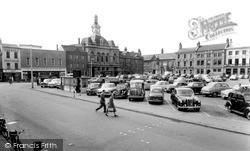 Market Square c.1955, Retford
