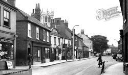 Moorgate c.1955, Retford
