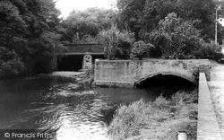 The Bridge And River Idle c.1965, Retford