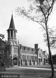 The Grammar School c.1955, Retford