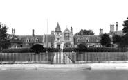 Retford, Trinity Hospital c1955