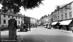 View From The Church c.1955, Retford