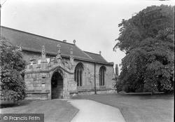 West Retford Church Porch c.1955, Retford