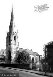West Retford Parish Church c.1955, Retford