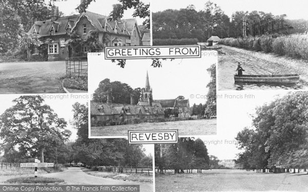 Photo of Revesby, Composite c.1955
